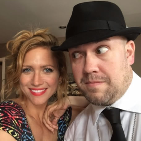 Detective Peter Ness is on the case with Brittany Snow!