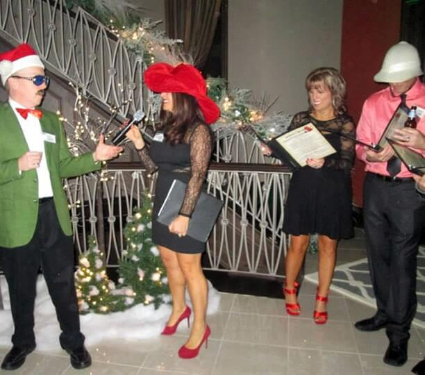 Murder Mystery Holiday Party